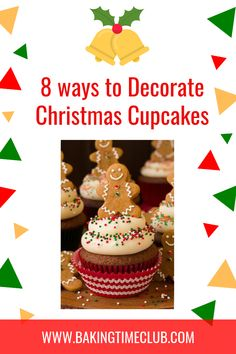 8 Ways to Decorate Christmas Cupcakes Pull Apart Cupcake Cake, Pull Apart Cake, Cupcake In A Cup, Cupcake Cakes, Cupcake Ideas, Cup Cakes, Biscuit Cupcakes, Reindeer Cupcakes, Ladybug Cupcakes