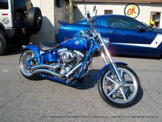 2008 Harley Davidson Rocker C with 8K Miles | Softail Harley Davidson Motorcycles For Sale - Used & New