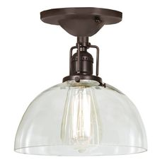 You'll love the Edgar 1-Light Semi Flush Mount at Wayfair - Great Deals on all Lighting products with Free Shipping on most stuff, even the big stuff.