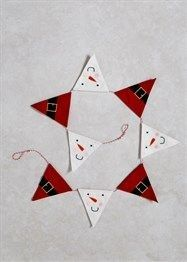 Sewing Christmas Bunting 59 New Ideas Christmas Makes, Santa Christmas, Christmas Shopping, Christmas Holidays, Christmas Ornaments, Christmas Banners, Christmas Scrapbook, Christmas Sewing, Christmas Decorations