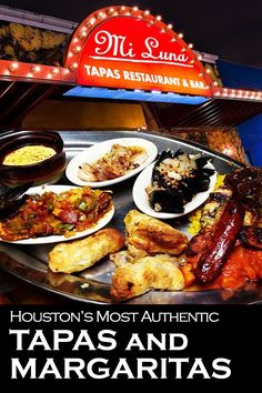 Mi Luna is where to go for the most authentic tapas and the best margaritas in Houston.