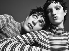 Guillaume Babouin is Two of a Kind for Now Fashion