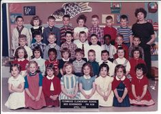 Fifth Grade, Second Grade, Class Pictures, Golden Rule, Holiday Photo Cards, School Classroom, School Days, Elementary Schools, Vintage Photos