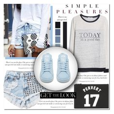 What's Wrong With A Little Bit Of Casual? by antemore-765 on Polyvore featuring polyvore, fashion, style, MANGO, adidas, Givenchy, Seed Design and clothing