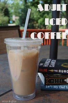 This Adult Iced Coffee made with UV Whipped is the perfect addition to your summer afternoon!