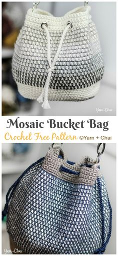 Bucket Bag Crochet Free Patterns – Crochet & Knitting Bucket Bag Crochet Free Patterns – Crochet & Knitting,Paracord Bucket Bag Crochet Free Patterns – Crochet & Knitting Related OFF - Rainbow Color Embroidery. Bag Crochet, Crochet Market Bag, Crochet Handbags, Crochet Purses, Crochet Crafts, Crochet Projects, Crochet Drawstring Bag, Knit Bag, Drawstring Bags