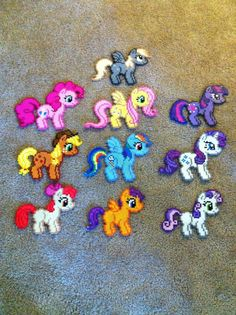 Pony Bead Sprites by prettypixelations on deviantart