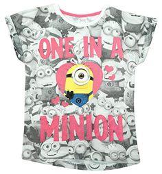Niña Cadena de tiendas Todo Minions One en Minion Camiseta tallas desde 8 a 13 Años #regalo #arte #geek #camiseta