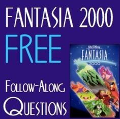 Perfect Activity for an Unexpected Sub Day in 6th Grade - Walt Disney's Fantasia 2000- Follow Along Questions