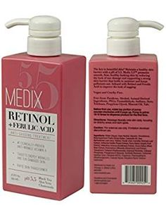 Medix Retinol Cream with Ferulic Acid Anti-Sagging Treatment. Targets Crepey Wrinkles and Sun Damaged Skin. Anti-Aging Cream Infused With Black Tea, Aloe Vera, And Chamomile Pca Skin, Exfoliating Soap, Sun Damaged Skin, Retinol Cream, Strong Nails, Facial Cream, Grooming Kit, Anti Aging Cream