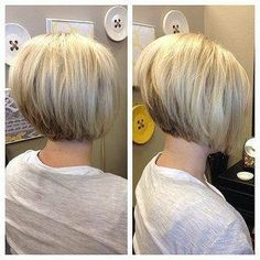 Graduated bob haircuts have always been the most unique and stylish looks for years. They're great for almost any hair type and graduated haircut can make a. Graduated Bob Hairstyles, Stacked Bob Hairstyles, Short Bob Haircuts, Short Hairstyles For Women, Hairstyles Haircuts, Short Stacked Haircuts, Short Graduated Bob, Medium Hairstyles, Graduated Haircut