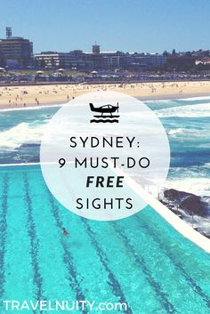 Between accommodation, dining out and booking day trips, Sydney is a fairly pricey city to visit these days. However, there are plenty of free things to do. #Sydney #Australia