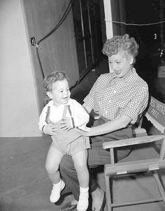 Lucy and Desi Jr.