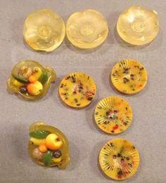 shopgoodwill.com: Antique Bakelite Buttons