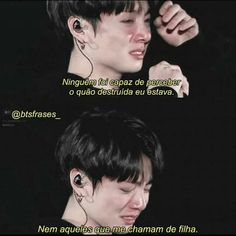 Eh a vd Frases Bts, My Heart Hurts, Sad Life, Im Sad, Bts Quotes, Motivational Quotes For Working Out, Bad Timing, Bts Memes, Are You Happy