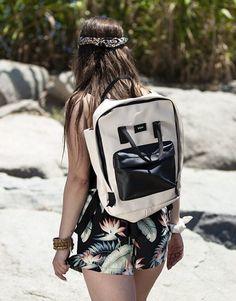 mochila beige-5 Beige, Fashion, Shopping, Backpacks, Moda, Fashion Styles, Fasion