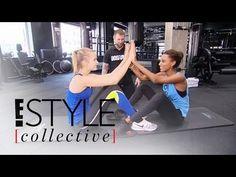 Victoria's Secret Angels Show Off Bikini Body Workout | E! Style Collective | E…