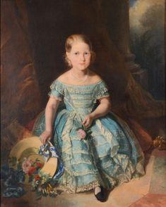 Ferdinand Krumholz Isabel do Brasil 1853 Royal Queen, King Queen, Pedro Ii, 1850s Fashion, Ferdinand, Old Paintings, Queen Victoria, Royalty, Elegant