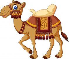 Imagens, fotos stock e vetores similares de Cartoon funny camel with saddlery - 1298237785 Cartoon Cartoon, Free Characters, Cartoon Characters, Free Cartoons, Funny Cartoons, Animal Sketches, Animal Drawings, Zoo Animals, Cute Animals