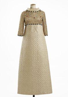 Yves Saint Lauren evening dress, 1967