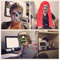 Cancelled clients = fun at work. Love the Monster Booth App! Therapy Activities, Therapy Ideas, Speech Room, Fun At Work, Halloween Themes, Speech Therapy, Pediatrics, Fall Crafts, Halloween Face Makeup