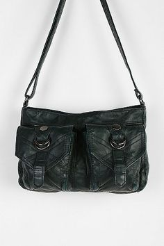 Ecote Flap-Pocket Crossbody Bag - Urban Outfitters - $39.00