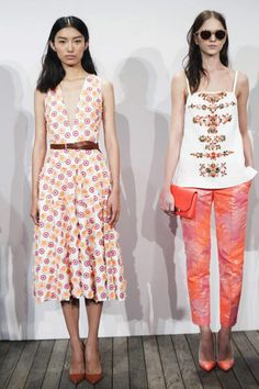 new jcrew spring 2014 collection | creations from the J. Crew Spring/Summer 2014 collection during New ...