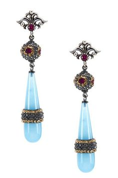 Grand Bazaar Vintage Drop Earrings by Non Specific on @HauteLook