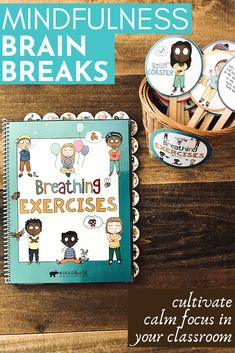 Mindfulness Break the brain Teachers can use in the classroom to cultivate calm and concentrate with students - Luxury Beauty Problem Solving Skills, Coping Skills, Deep Breathing Exercises, Yoga Breathing, Exercise For Kids, Exercise Book, Learning Support, Counseling Activities, Feeling Stressed