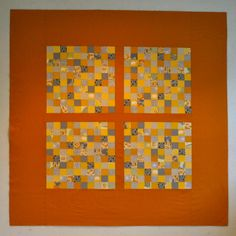 2 inch squares/magic number cross quilt