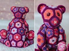 African Crochet Bear