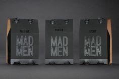 Mad Men Beer Packaging Design on Behance