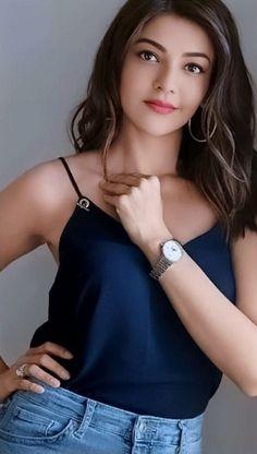 Cute Top 10 Beautiful of Kajal Aggarwal 2019 Indian Actress Hot Pics, South Indian Actress, Indian Actresses, Beautiful Bollywood Actress, Most Beautiful Indian Actress, Beautiful Actresses, Stylish Girl Images, Stylish Girl Pic, Beauty Full Girl