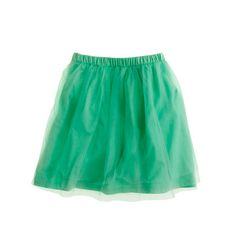 easy casual tulle skirt. w button-up shirt