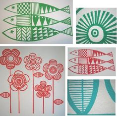 these stunning prints are by brighton based designer jane foster . inspired by 1960's scandinavian style jane produces limited edition pri...