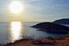 Phromthep Cape in Phuket, where the sun sets last in Thailand
