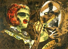 Håkon Bleken - Hedda og pistolen (Hedda Gabler) Hedda Gabler, Hakone, Color Pallets, Art Museum, Norway, Scandinavian, Contemporary Art, Sketches, Scene