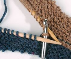 Seaming with a crochet hook