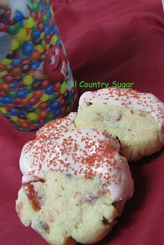 A'lil Country Sugar: It's About Time: Chocolate Cherry Cookies