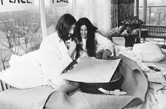 John and Yoko's relationship was intense and remains a sensitive issue for some fans of The Beatles. But there's no doubting that they were unique, glamorous and totally fabulous. Who else would even think of having bed-ins? It's our kind of protest!