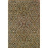 Found it at Wayfair - Yorkshire Hand-Crafted Wool Traditional Blue/Ivory Area Rug