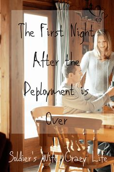 The deployment is over and you will get your spouse back, after so much time apart. Military Marriage, Military Deployment, Deployment Care Packages, Military Love, When You Love, Crazy Life, First Night, About Me Blog, Advice
