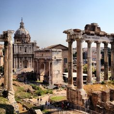 To stand in the middle of the political, legal and religious centre of the Roman Empire is an awe-inducing experience.