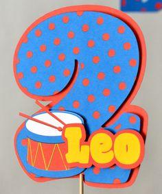 Toy Drum Birthday DOOR SIGN Music Birthday Rock by bcpaperdesigns, $17.00
