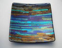 Beautiful Fused Glass Plate