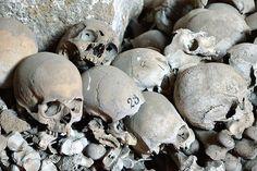 Skulls and Bones, Fontanelle Cemetery, Napoli by raffer #ossuary #italy #skull #naples