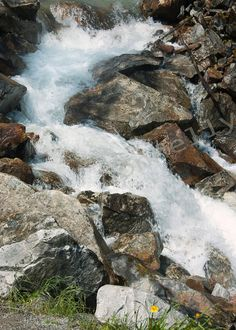 Skagway waterfall Alaska river fine Art photograph