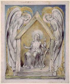 Illustration to Milton`s Comus (1816-20) by English artist William Blake (1757-1827). Blake created this illustration for John Milton's masque Comus. Blake was deeply influenced by Milton (1608-74).