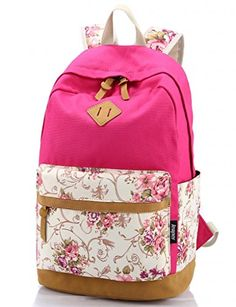 Fashion Backpack Women Canvas Rucksack School Bags for Teenagers Girls School Backpack Mochila Floral Printing Women Backpack Floral Backpack, Backpack Travel Bag, Rucksack Backpack, Fashion Backpack, Laptop Backpack, Laptop Bags, Travel Bags, Cute Backpacks, Girl Backpacks