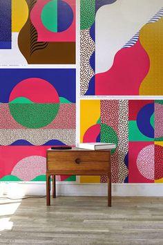 Постеры для интерьера (65 фото) – оформляем пространство креативно http://happymodern.ru/postery-dlya-interera-65-foto-oformlyaem-prostranstvo-kreativno/ Постеры с сочетанием разноцветных фигур